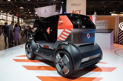 Mobilize EZ-1, le successeur de la Renault Twizy, devient Duo et Bento