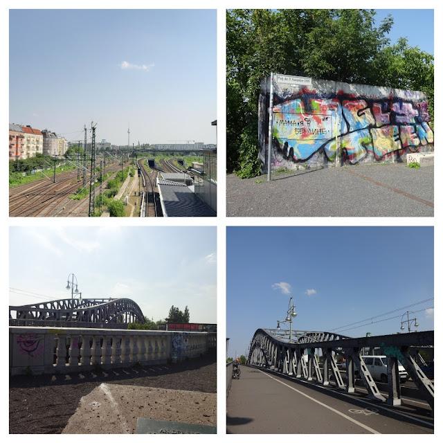 Grátis em Berlim - Bösebrücke e Bornholmer Strasse