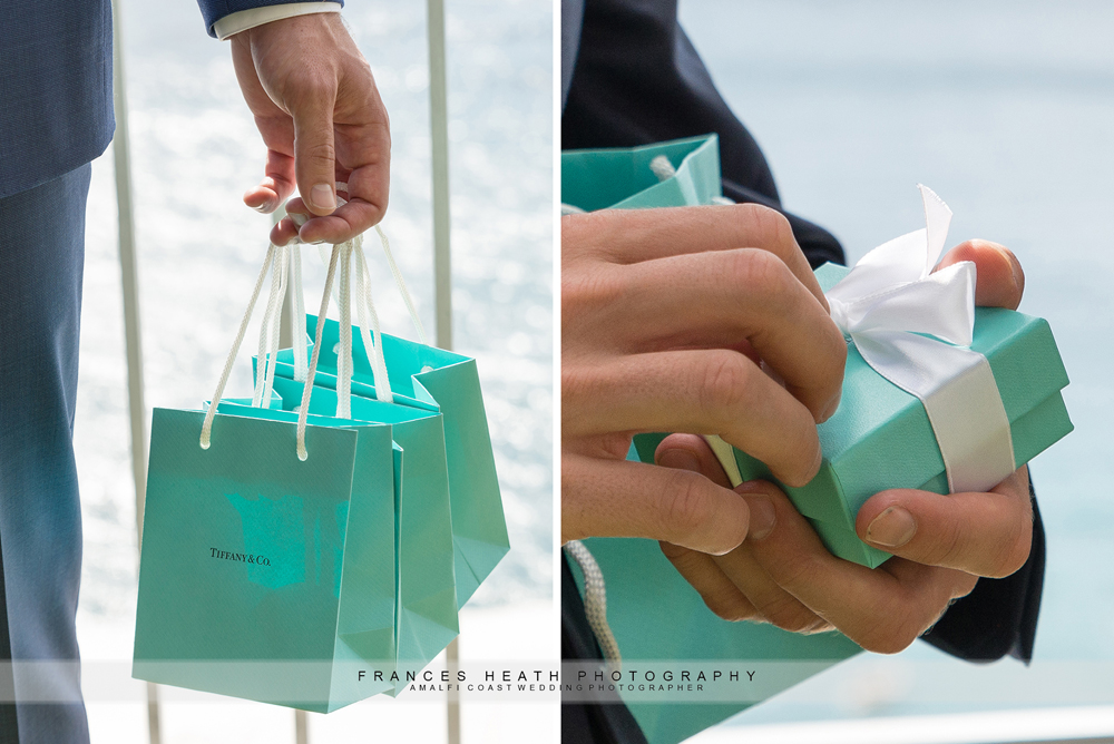 Tiffany wedding gifts