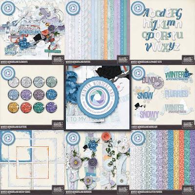 Winter Wonderland from Aimee Harrison Designs
