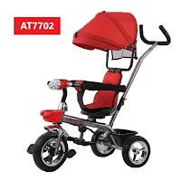 Sepeda Roda Tiga Anak Aviator AT7702 baby tricycle