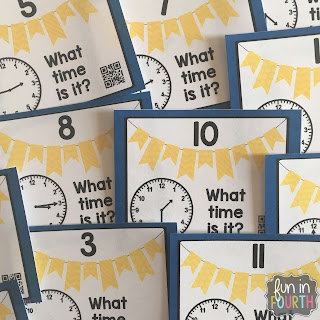https://www.teacherspayteachers.com/Product/Telling-Time-Task-Card-Bundle-with-and-without-QR-Codes-2460814