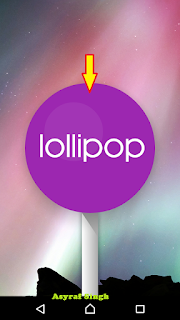 Lollipop logo - game tersembunyi android 5.0 lollipop