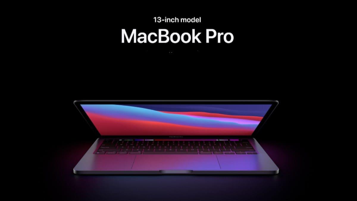 1- جهاز Apple MacBook Pro 13-inch M1