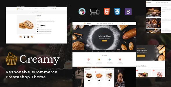 Best Bakery Prestashop Theme