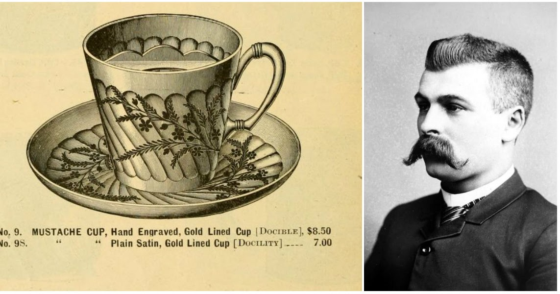 The Moustache Cup: The Special Tea Cup Used by the Victorian Men to Protect Their Mustache