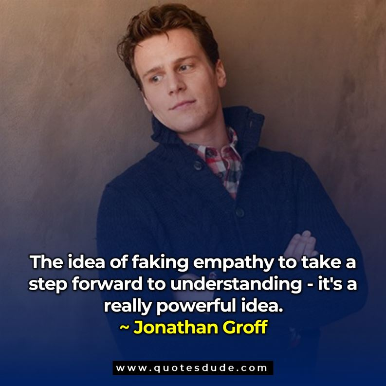 Quotes By Jonathan Groff Actor.