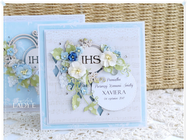Holy Communion Cards with Scrapiniec