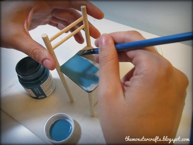 Pintando con acualux mate