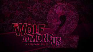 The Wolf Among Us Logo Wallpaper