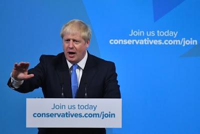 Boris Johnson Resmi Terpilih sebagai PM Baru Inggris