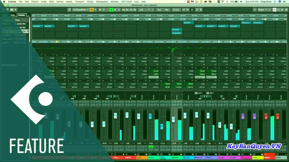 Hướng dẫn cài đặt và Download Steinberg Cubase Elements 10.5.20 Full Key, BẢN ĐẦY ĐỦ NHẤT 19 GB.