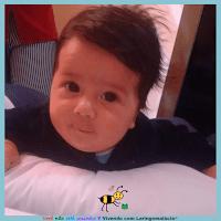 Miguel com três meses