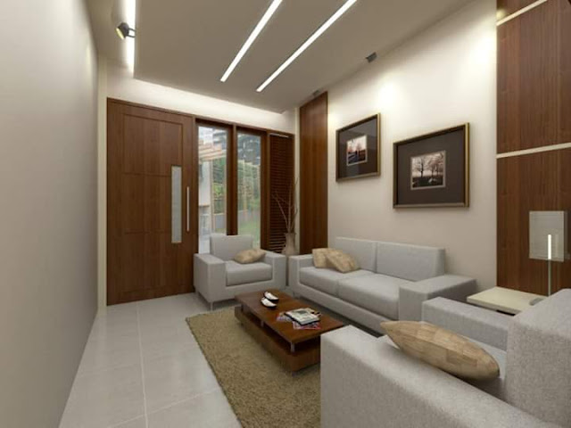 Desain Ruang Tamu Kecil Minimalis Sederhana dan Modern