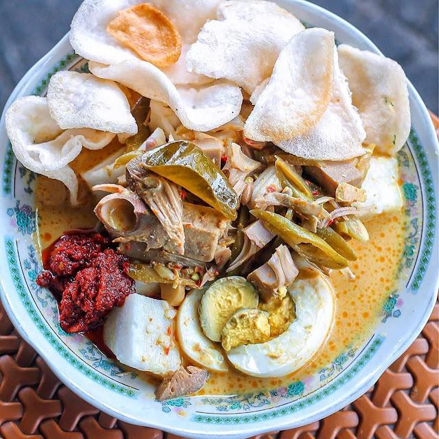 Lontong Sayur Uda Uni Yogyakarta