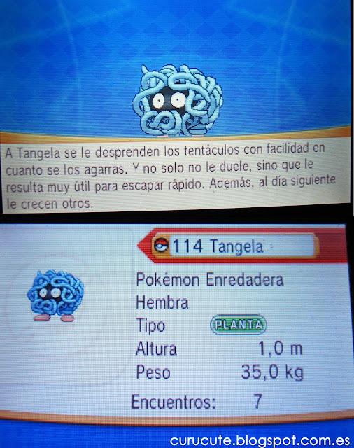 Pokémon Tangela  Pokédex Nacional