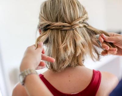 Short Hair Tie Up Styles (Hairstyle Updates - www.hairstyleupdates.com)