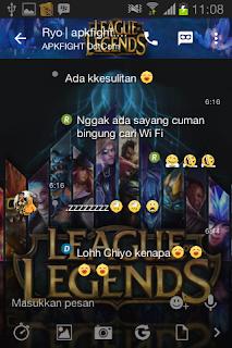 BBM Mod Tema League Of Legend v2.13.1.14 Apk Terbaru