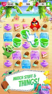 Angry Birds Match Mega Mod APK