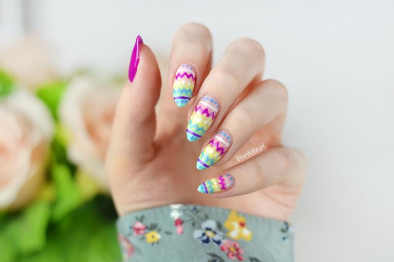 easter nails, wielkanoc, paznokcie na wielkanoc, wielkanocne paznokcie, swiateczne paznokcie