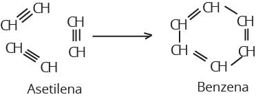 reaksi pembuatan benzena