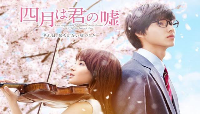 Download Shigatsu wa Kimi no Uso Live Action Subtitle Indonesia