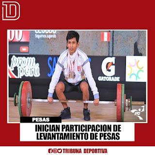 INICIAN PARTICIPACION SELECCIÓN DE LEVANTAMIENTO DE PESAS