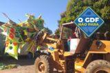 SIA retira das ruas 322 toneladas de lixo