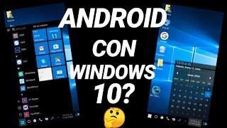 como tener windows 10 en android