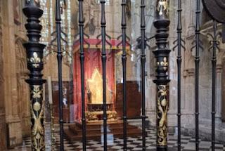 Abadía de Westminster. Trono de San Eduardo.