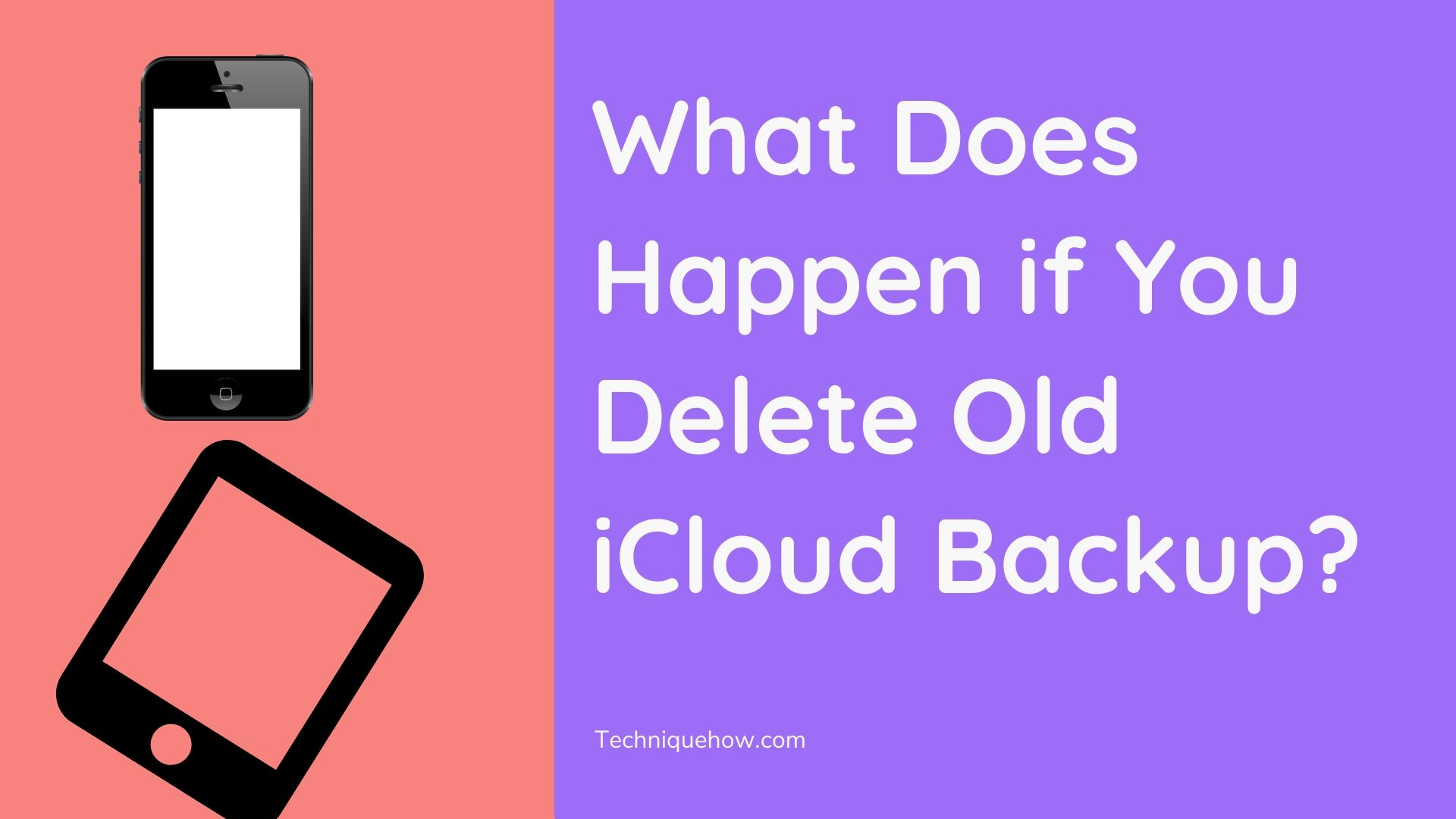 Delete Old iCloud Backup