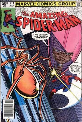 Amazing Spider-Man #213, the Wizard