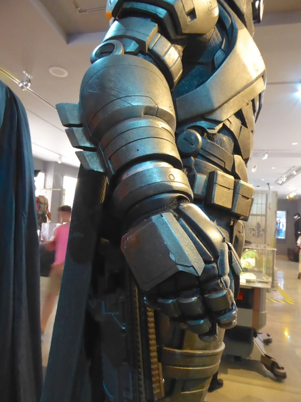 Mech Batsuit costume detail Batman v Superman