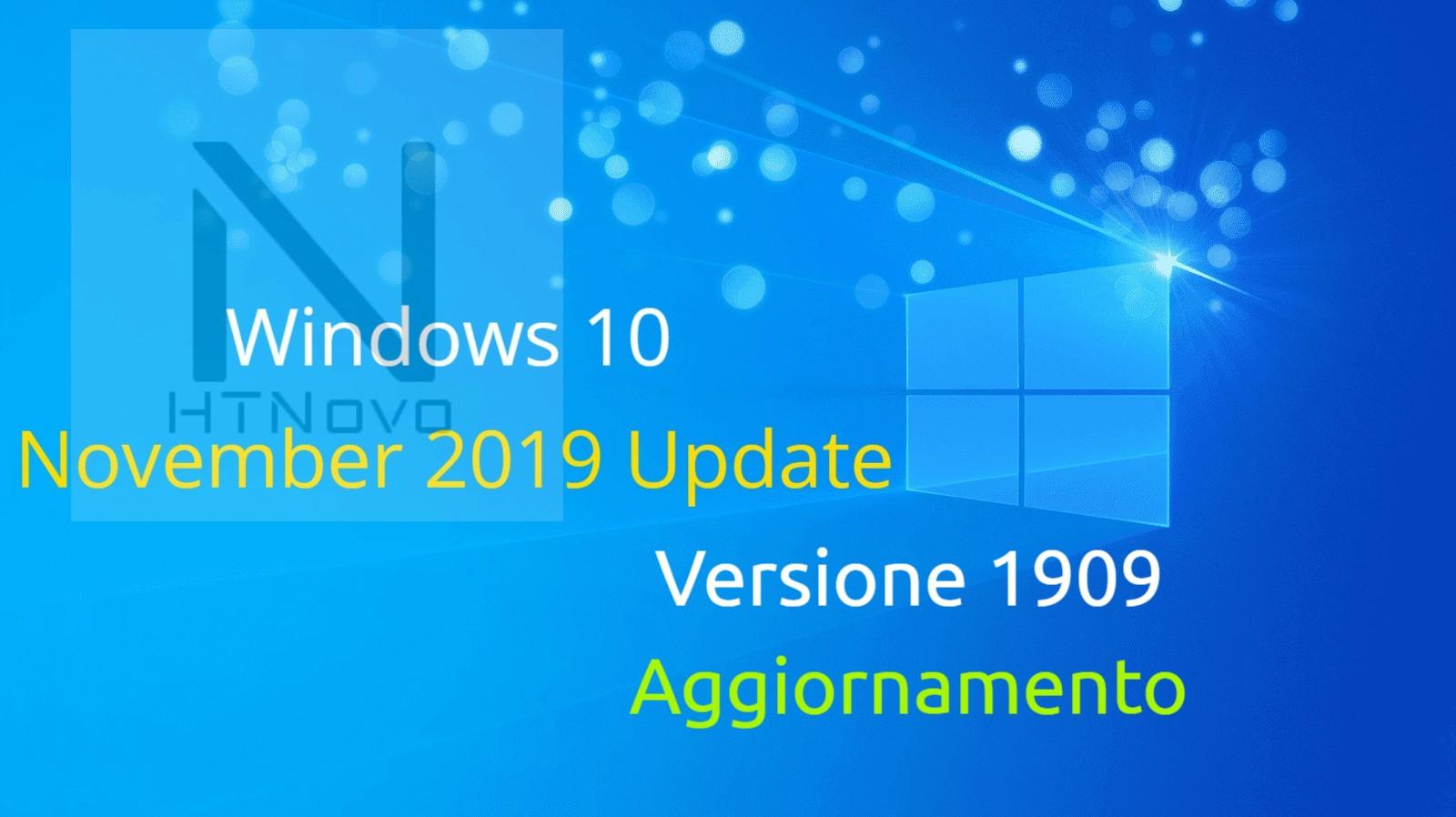 Aggiornamento per Windows 10 versioni 1903 e 1909 - Build 18362.476 e 18363.476