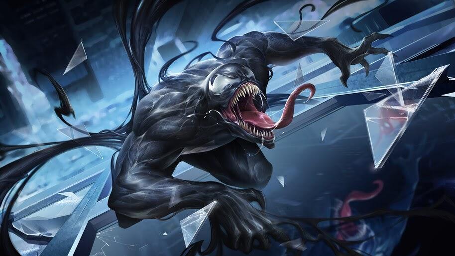 Venom, Marvel, Comics, Art, 4K, #6.2435