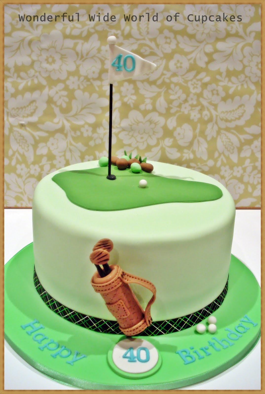Golf Birthday Cakes Perth