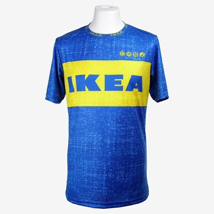 factory authentic 35c2c 28690 Ikea Frakta x Boca Juniors Jersey by Fokohaela - Footy Headlines