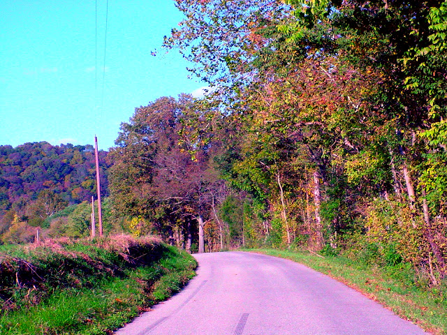 Cave Hill Road - South of Versailles, Indiana
