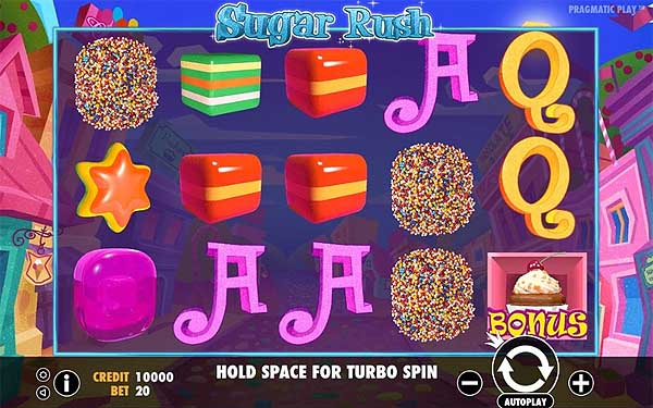 Main Gratis Slot Indonesia - Sugar Rush (Pragmatic Play)