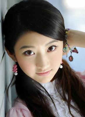 Schönes sexy chinesisches Mädchen