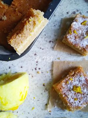 Ricetta quadrotti senza glutine al limone