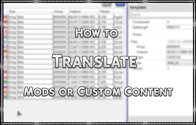 How to Translate a Mod or Custom Content