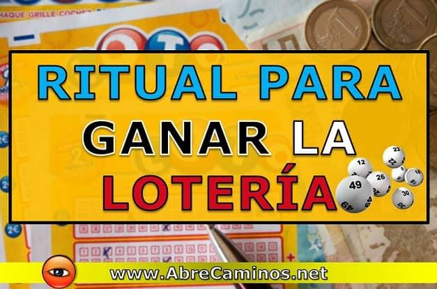 Ritual Rápido Urgente para Ganar Premio Lotería