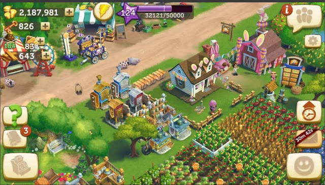 Game Peternakan dan Pertanian FarmVille 2 Mod Apk