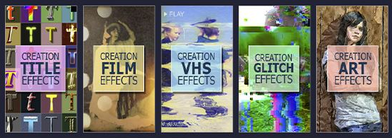 Projects – Creation Effects – Creation Series Bundle [AEP]