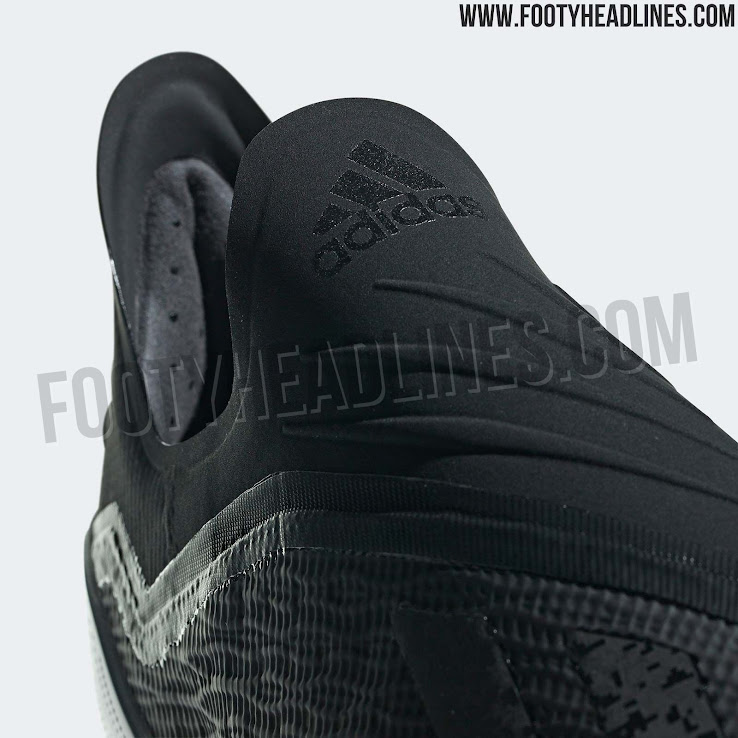 sports shoes 7da91 dc60e OFFICIAL Pictures: Blackout Adidas X 18+ 'Shadow Mode' Boots ...