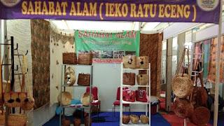 Ratu Eceng Gondok Binaan PKBL Krakatau Steel