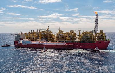 新南向再放異彩 中油投資澳洲天然氣啟運