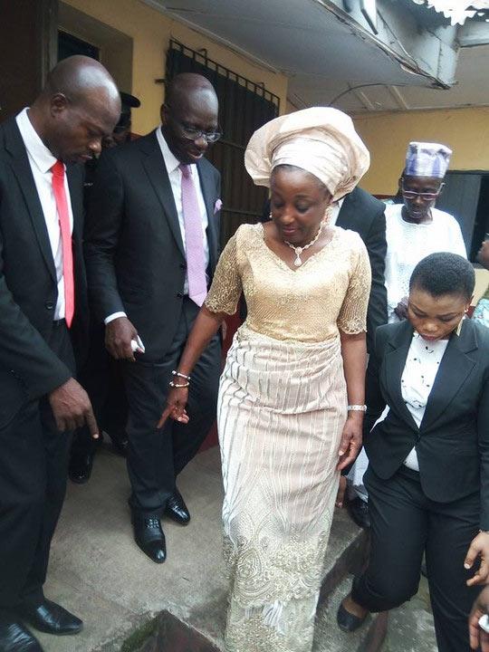 Governor Obaseki visits his family house in Benin