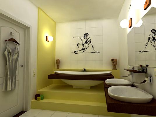 ванные комнаты современные